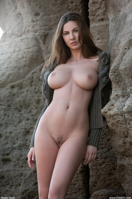Imagen etiquetada con: Brunette, Busty, Connie Carter, Femjoy, Rock that body
