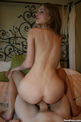 Imagen etiquetada con: Skinny, Brunette, Kasey Chase, Ass - Butt, Doggy style, Fucking, Small Tits